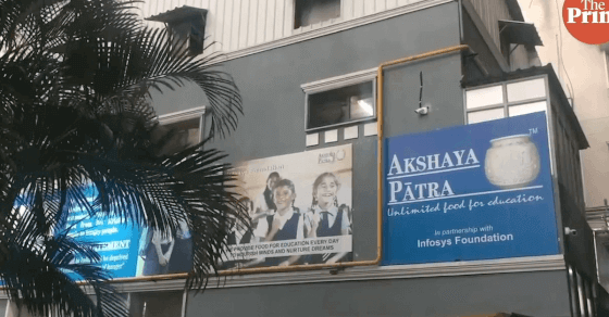 Akshaya Patra's midday meal runs into controversy over missing onions