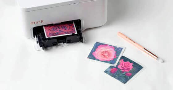 The future of make-up: A portable 3D printer