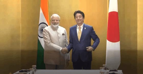 G-20 समिट: जापानी PM शिंजो आबे से मिले PM मोदी