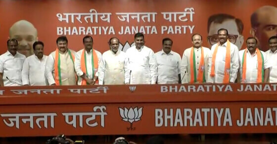4 more TDP leaders join BJP, trouble mounts for Naidu