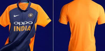 टीम इंडिया की ऑरेंज जर्सी पर BCCI की मुहर... देख लो !