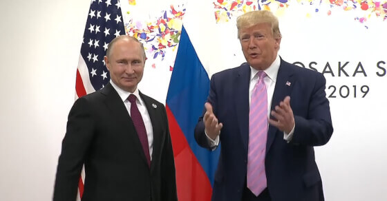 Trump jokes with Putin: Don't meddle in our elections