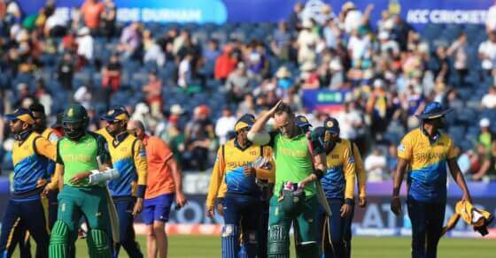 World Cup Points Table: Top half unchanged after Sri Lanka's loss