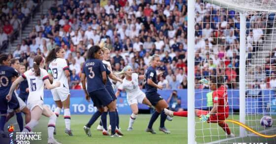 Women's World Cup: US beats France to enter semis