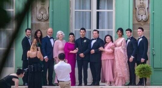 In Paris, Sophie-Joe exchange vows for the 2nd time