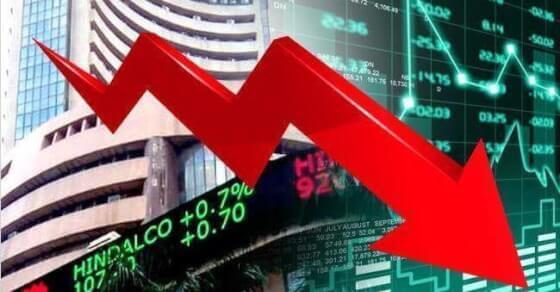 बाजार को पसंद नहीं आया बजट, 546 अंक तक टूटा