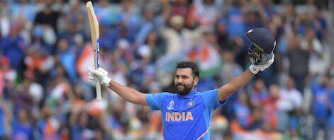 Fans predict another hundred from Rohit Sharma
