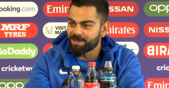Kohli says he is 'quite lethal'... and he doesn't mean his batting