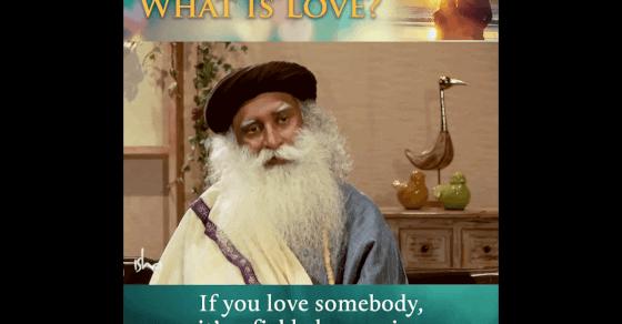 What is Love? Sadhguru Explains