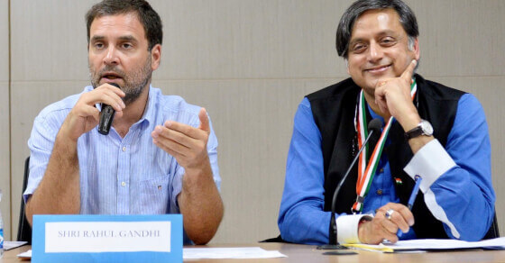 Lack of clarity at the top hurting Congress: Tharoor