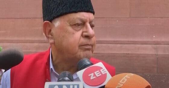 आर्टिकल 35ए और धारा 370 हमारी नींव, हटाना नहीं चाहिए: फारुख अब्दुल्ला