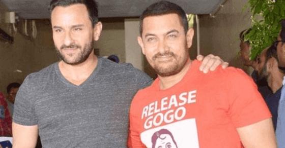 फिर एक साथ नज़र आएंगे सैफ अली खान और आमिर खान
