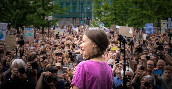 Greta Thunberg to take a 'green route' to attend climate conference
