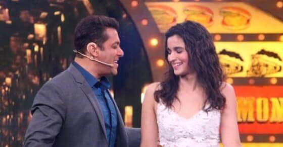 Is Alia Bhatt upset with Salman Khan?