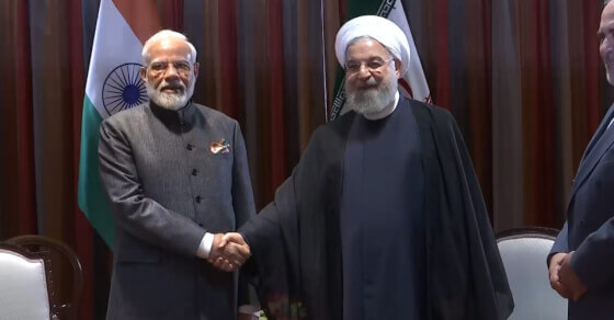 न्यूयॉर्क में ईरान के राष्ट्रपति हसन रूहानी से मिले प्रधानमंत्री मोदी