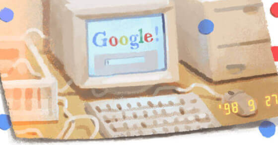 Happy 21st birthday Google!