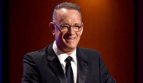 Cecil B DeMille award for Tom Hanks