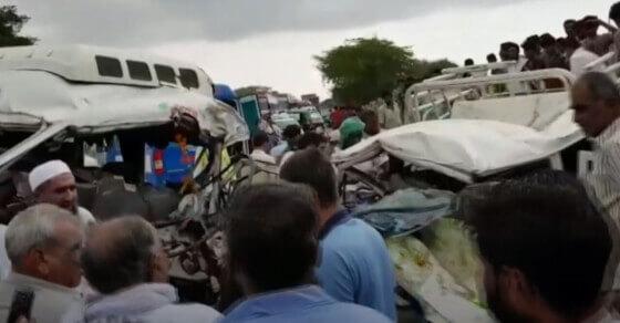 राजस्थानः जोधपुर में भीषण सड़क हादसा, 13 लोगों की मौत