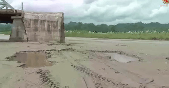 Pathetic Condition of Hulengi River Bridge in Gohpur