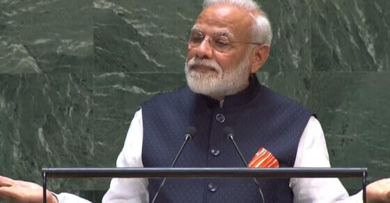 PM Modi at UNGA underlines battle against terror: 'world must unite'