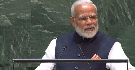 UN महासभा में बोले PM मोदी - भारत ने दुनिया को बुद्ध दिया, युद्ध नहीं