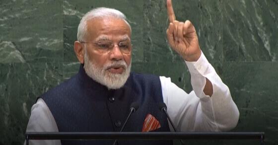 भारत जन कल्याण से जग कल्याण में विश्वास रखने वाला देश: UNGA में PM