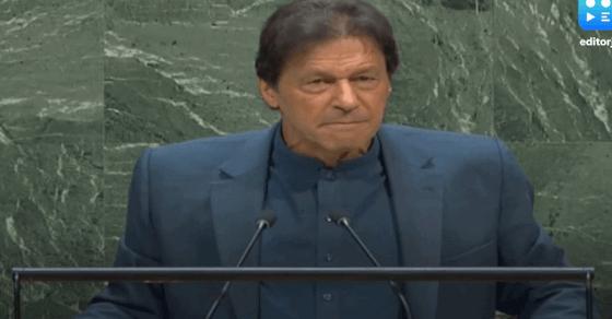 UN में भारत का जवाब- इमरान खान का भाषण भड़काऊ और नफरत से भरा