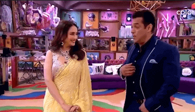 Bigg Boss 13: Salman Khan shakes a leg with Madhuri Dixit