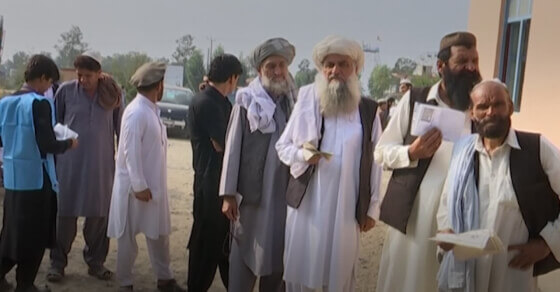 Explosions, violence as Afghans vote for president