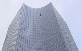 'French Spiderman' detained in German high-rise climb