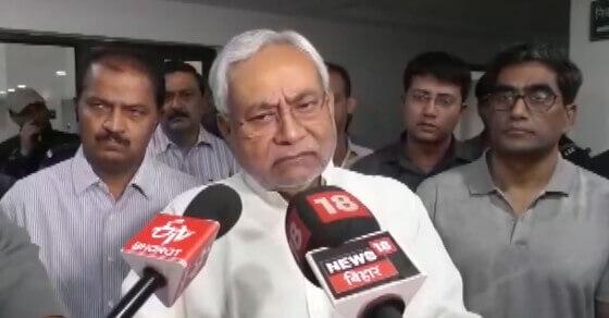 'सुशासन बाबू' ने मौसम विभाग पर फोड़ा सरकारी बदइंतजामी का ठीकरा