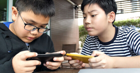 30% children face mental health risk from smart phone addiction