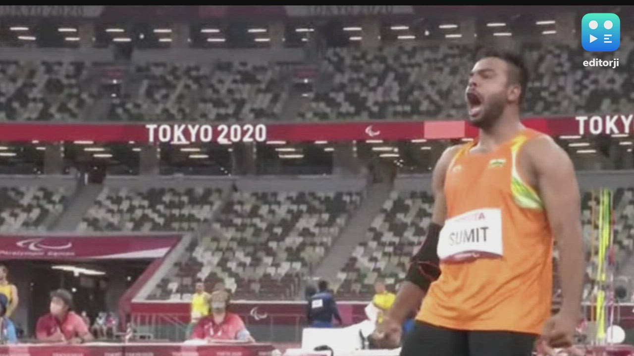 Tokyo Paralympics: India's Sumit Antil wins gold in javelin throw, breaks world record