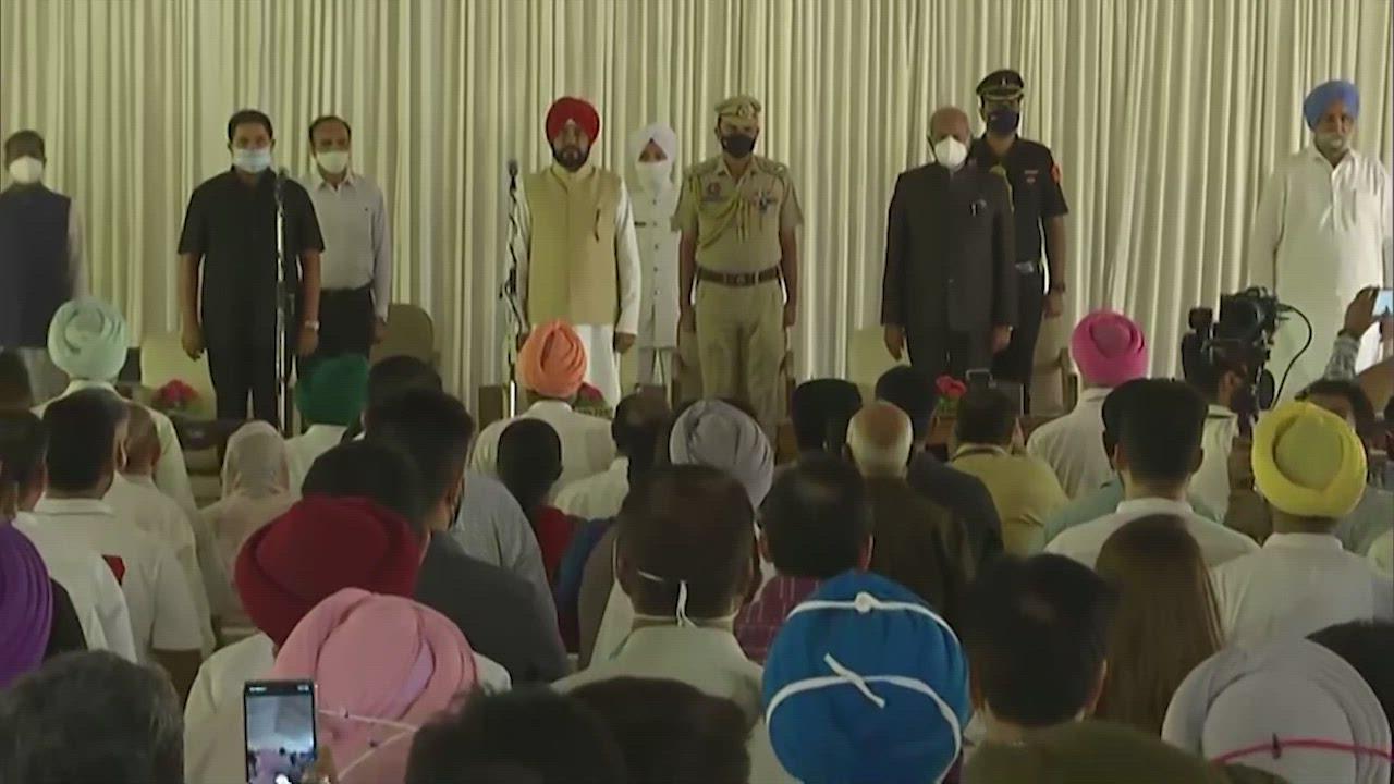 Punjab Cabinet: पंजाब में चन्नी सरकार का हुआ विस्तार, 15 मंत्रियों में से 6 हैं नए