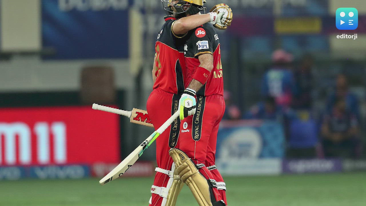 IPL 2021: Maxwell's 'Big Show' powers RCB to a 7-wicket win vs Rajasthan
