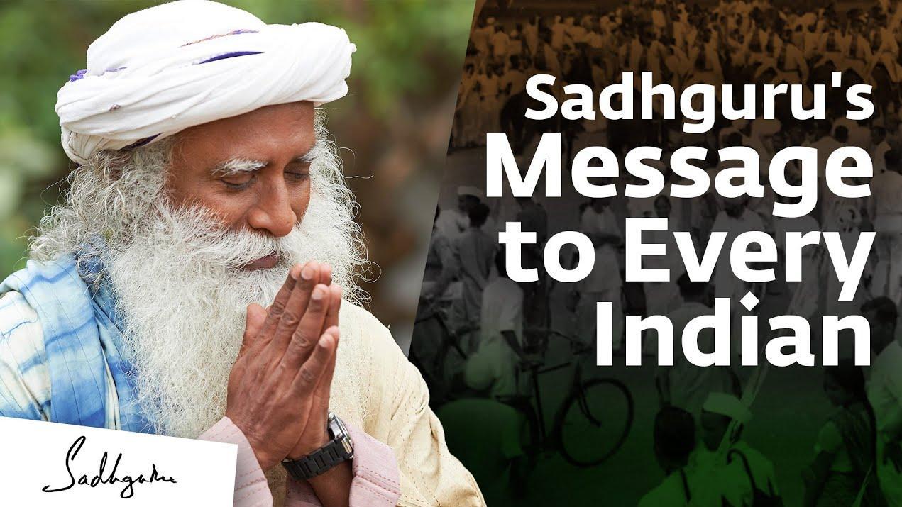 Sadhguru's Republic Day Message 2021 -- #RepublicDay #India