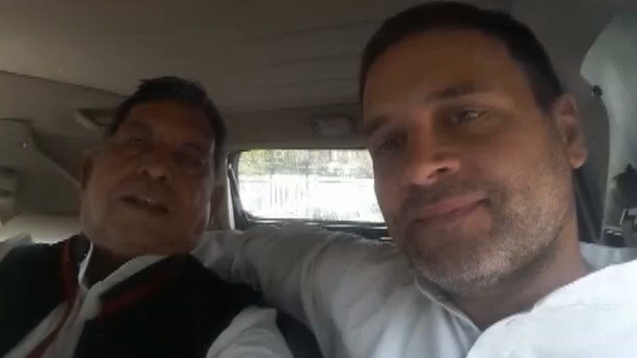 Rahul helps hurt journalist, he says 'once more please'
