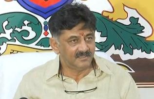 IT sleuths raid K'taka Cong minister DK Shivakumar
