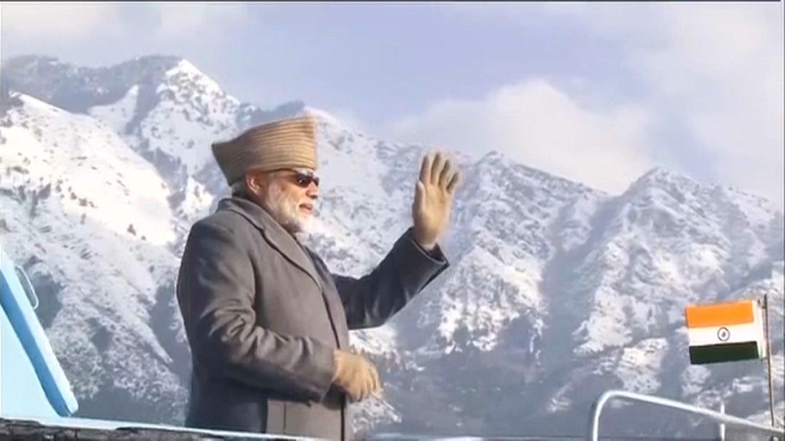 वाजपेयी जी के फॉर्मूले से ही कश्मीर विवाद होगा हल: मोदी