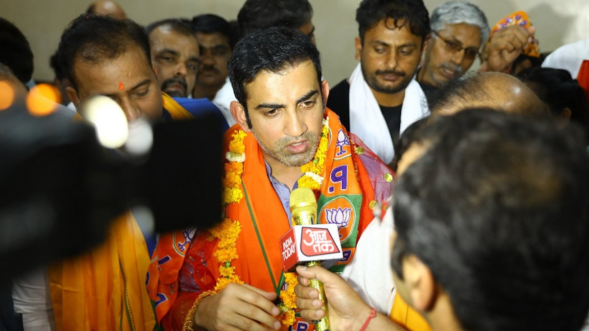 AAP stings Gambhir: When you don't know rules, why play the game?