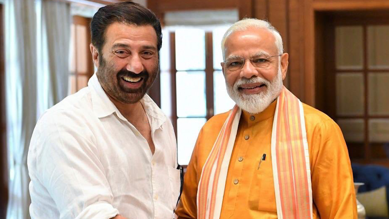 PM meets Sunny Deol, says 'touched by his humility'