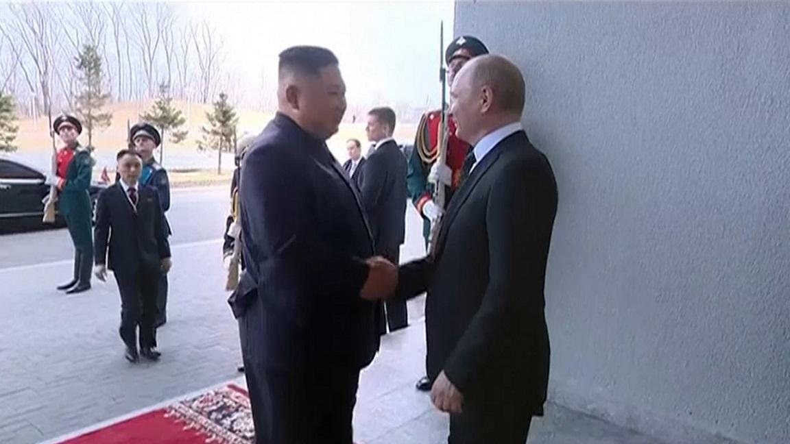 North Korean TV airs documentary on Kim's Russia visit