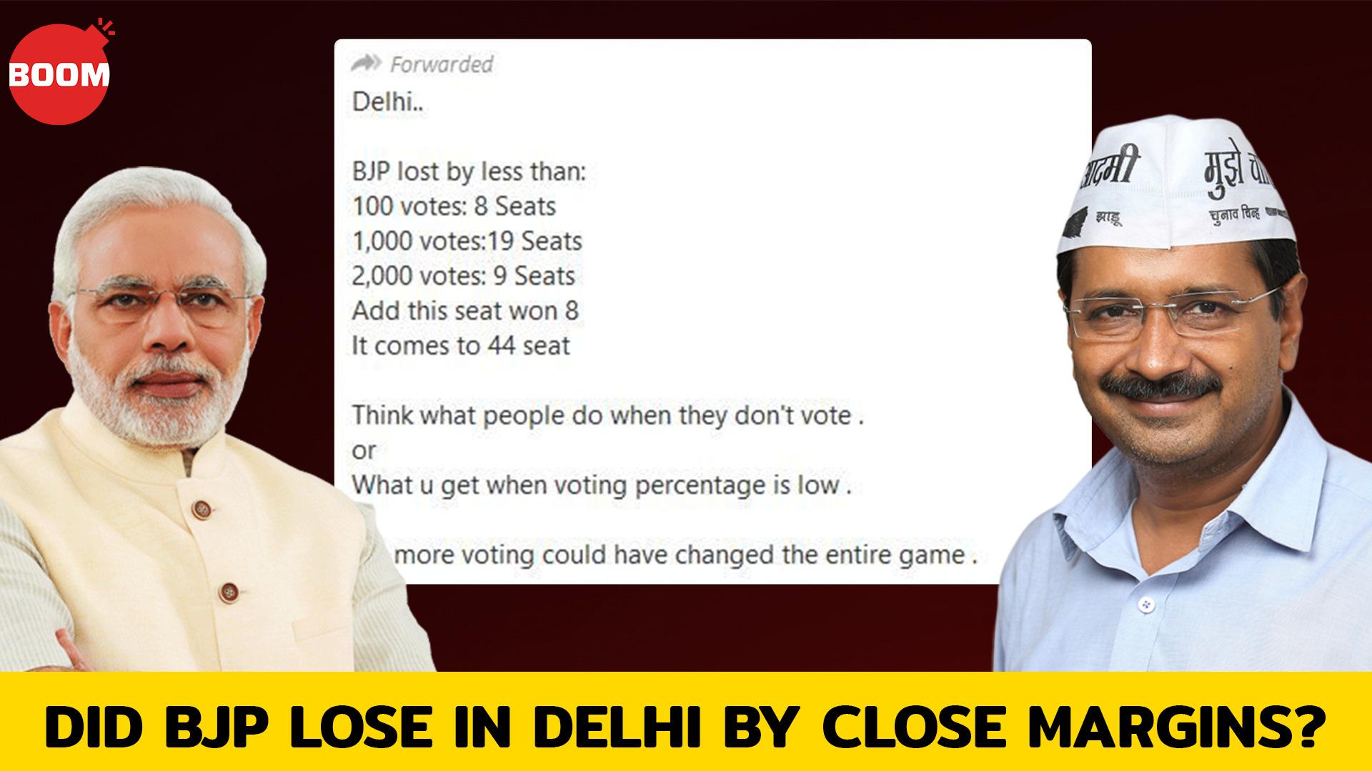 Did BJP Lose In Delhi By Close Margins? #DelhiElections