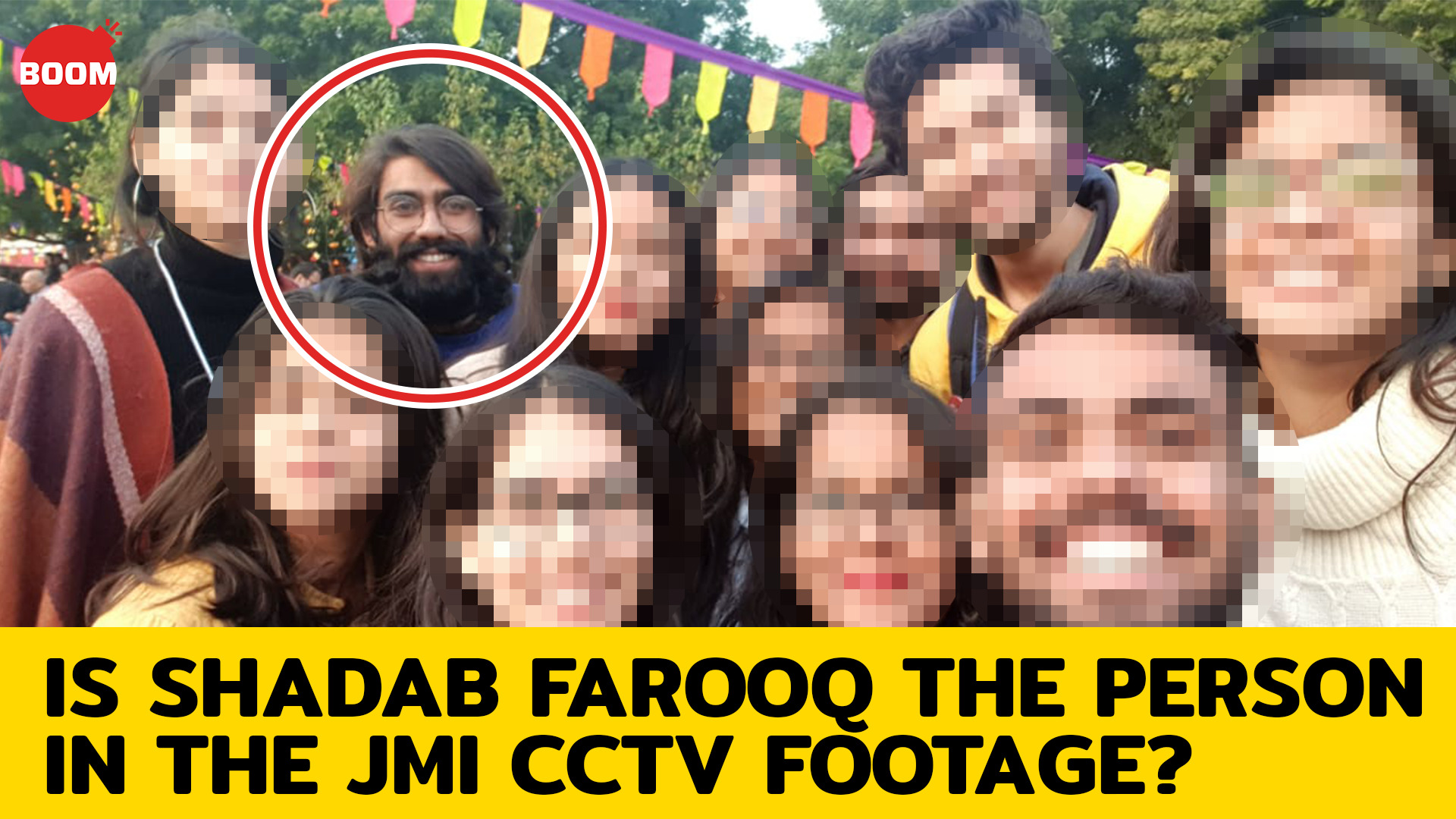 Student Injured In Jamia Shooting Same As Person In JMI CCTV Footage?