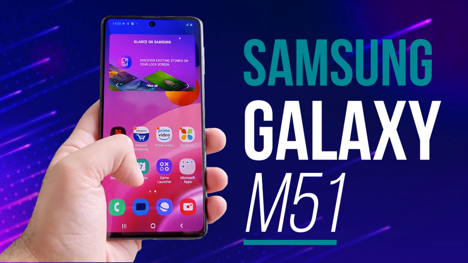 Samsung Galaxy M51 Unboxing Hands On Meanest Monster Ever Editorji