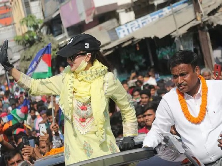 Couldve been raped, killed:Ameesha after campaigning for LJP