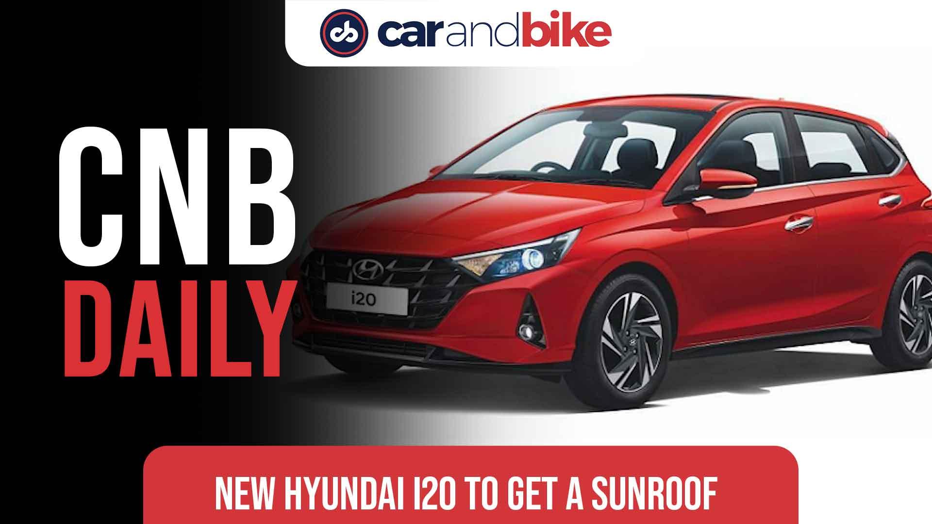 New Hyundai i20 To Get A Sunroof