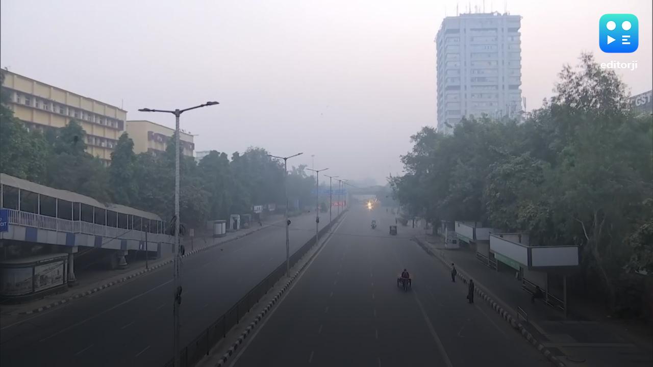दिल्ली की वायु गुणवत्ता में नहीं हो रहा कोई सुधार, शनिवार को 'खतरनाक'