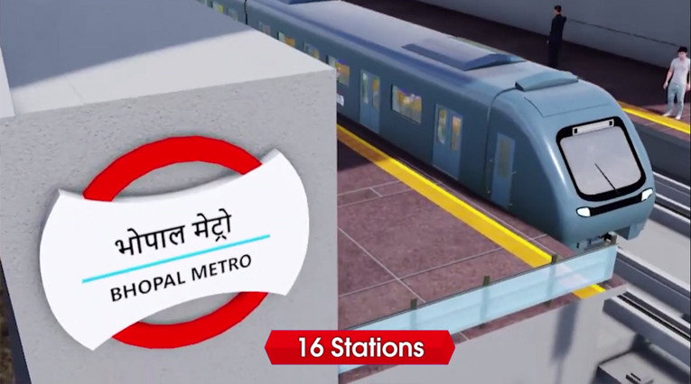 CW Projects - Bhopal Metro Project   Metro Construction Update