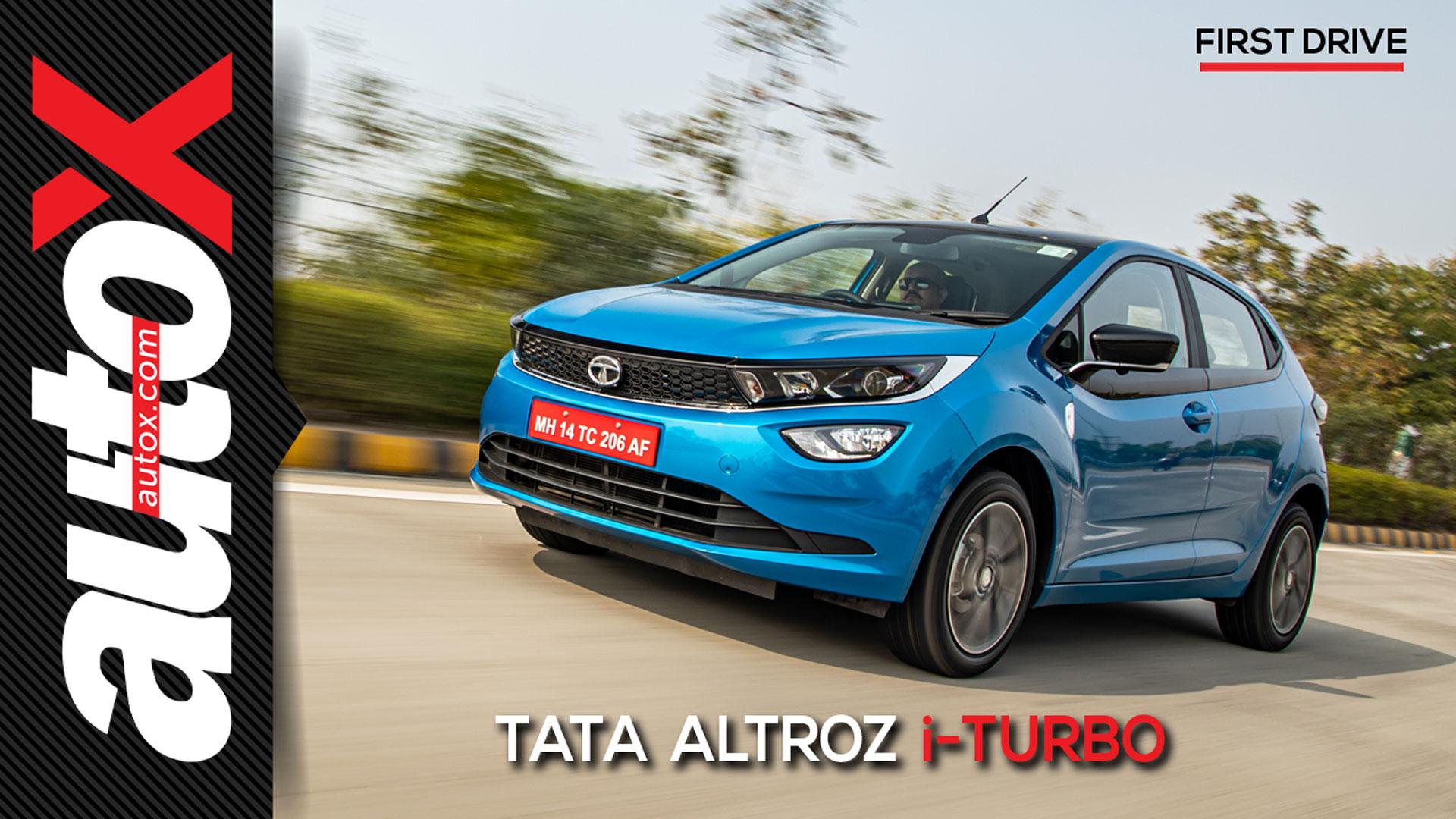 Tata Altroz i-Turbo | First Drive | autoX